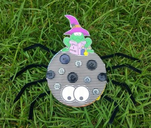 Recycled CD Kid Craft