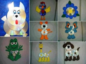 Recycled CD Projects for Kids