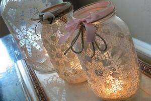 Recycled Mason Jars