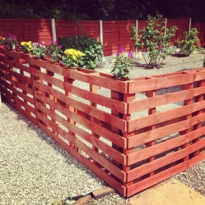 Stylish Pallet Fence
