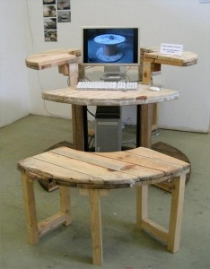 Upcycled Pallet Furniture Idea