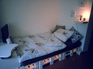 Beautiful Pallet Bed with Lights