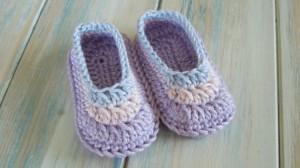 Crochet Baby Shoe