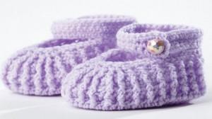 Crochet Baby Shoes DIY