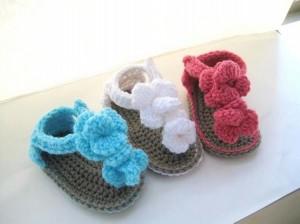 Crochet Baby Shoes Ideas