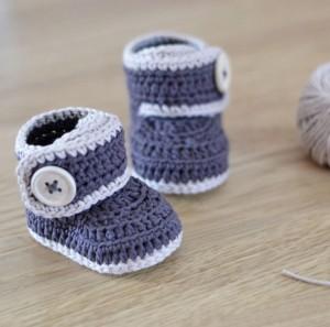 Crochet Baby Shoes Pattern Ideas