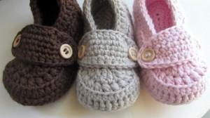 Cute Crochet Baby Booties