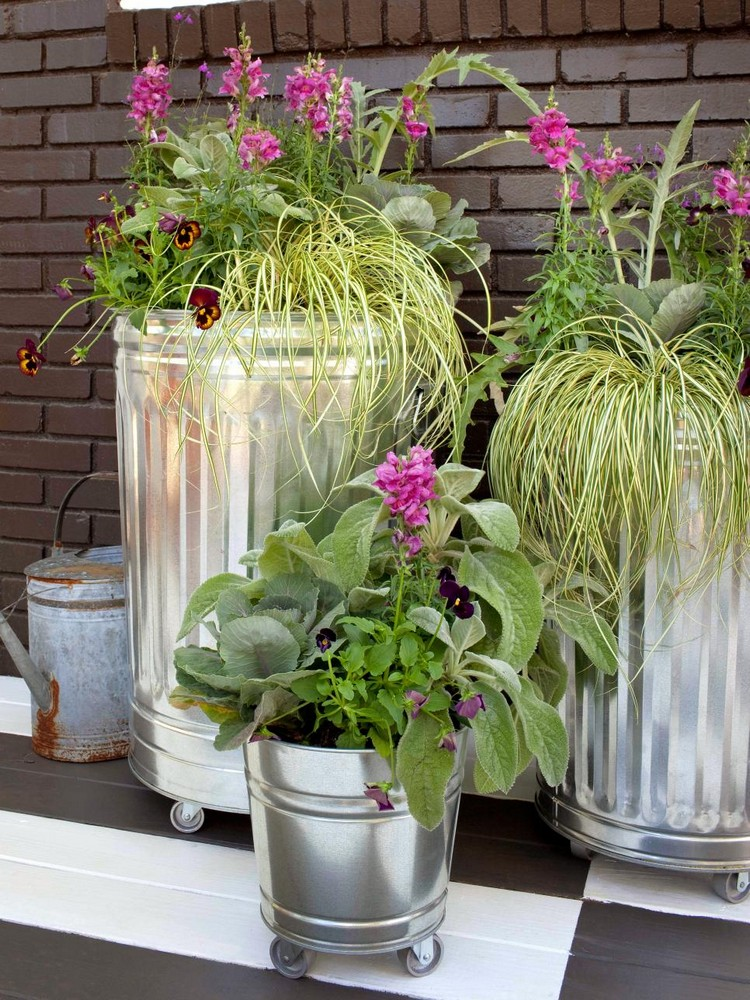Cute Upcycled Planters