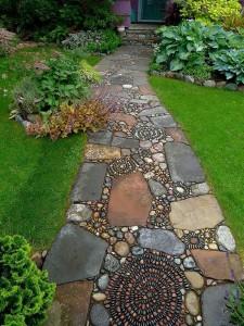 Garden Pathway Plans