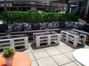 Pallet Outdoor Cafe Furniture