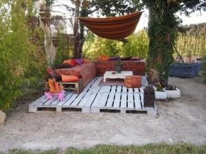 Pallet Outdoor Deck