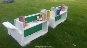 Pallet Outdoor Kids Furniture