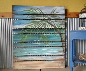 Pallet Wood Wall Art