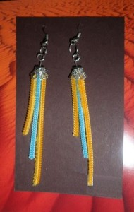 Recycled Earring Jewelry