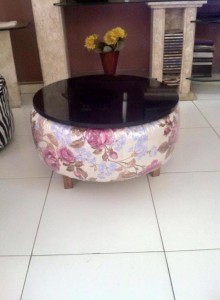 Recycled Tire Table
