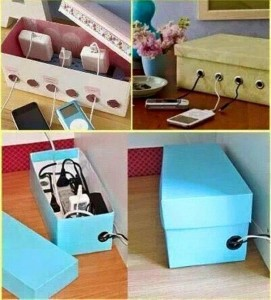Shoe Boxes Storage Ideas