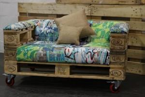 Small Pallet Sofa