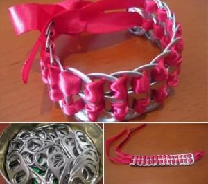 Tin Cam Cap Bracelet