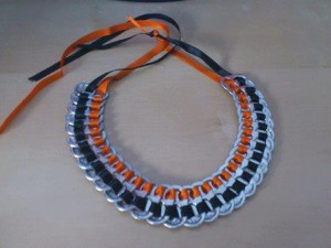 Tin Can Top Necklace