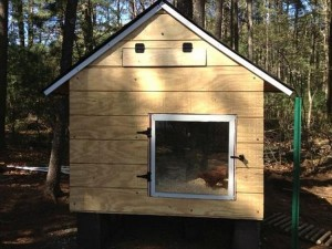 Upcycled Pallet Chicken Coop