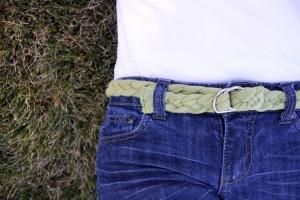 Upcycled T-Shits Belt