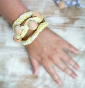 Upcycled T-Shits Bracelet