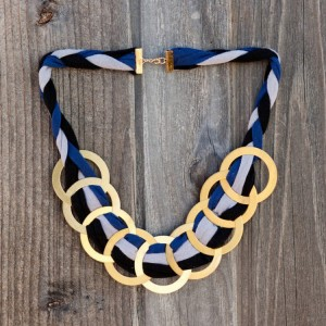 Upcycled T-Shits Necklace