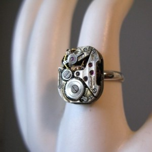 Upcycled Watch Ring