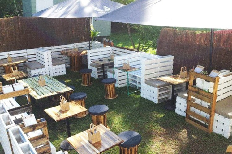 Wooden Pallet Cafe Furniture Plans