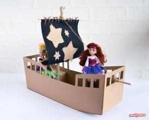 Cardboard Crafts for Kids