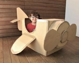 Cardboard Kid Crafts