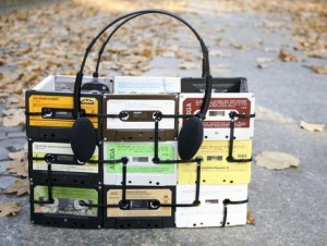 Cassettee Tape Handbag
