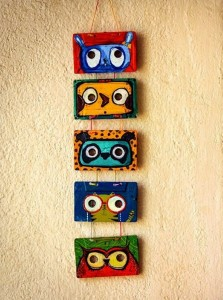 Cassettee Tapes Wall Decor Ideas