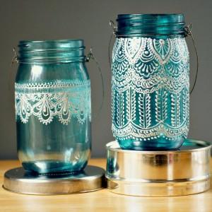 Glass Jars Art