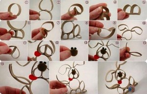 Kid Crafts from Toilet Paper Rolls