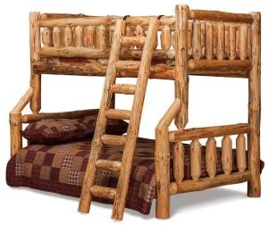 Log Furniture Bunk Bed