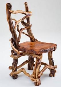 Log Furniture Chair
