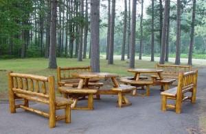 Log Patio Furniture