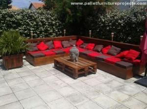 Lounge Pallet Furniture