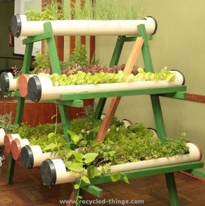 Recycled PVC Pipe Projects