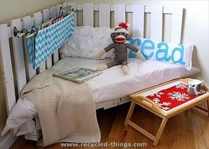Pallet Kids bed