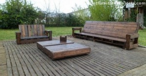 Pallet Wood Patio Furniture