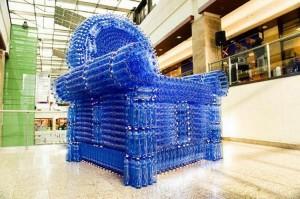 Plastic Bottles Chair