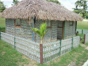 Recycled Bottles House