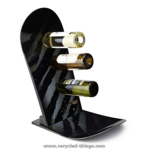 Recycled Snowboard Wine Holder