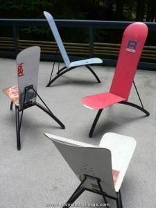 Snowboard Furniture