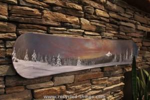 Snowboard Wall Art