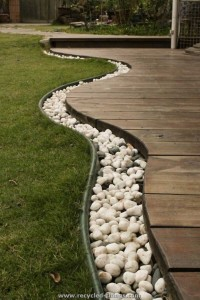 Stones Fence Home Decor