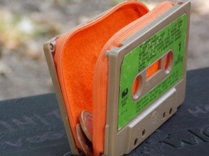 Upcycled Cassettee Tapes