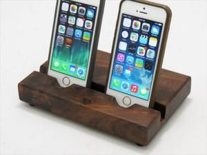 Wooden Pallet Mobile Holder